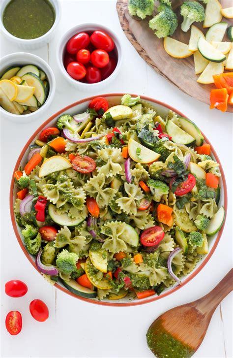 pasta salad vegetarian vegetarian pasta salad
