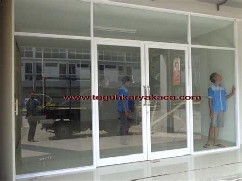 Etalase Aluminium Di Bandung kusen pintu aluminium dan kaca murah di bandung teguh