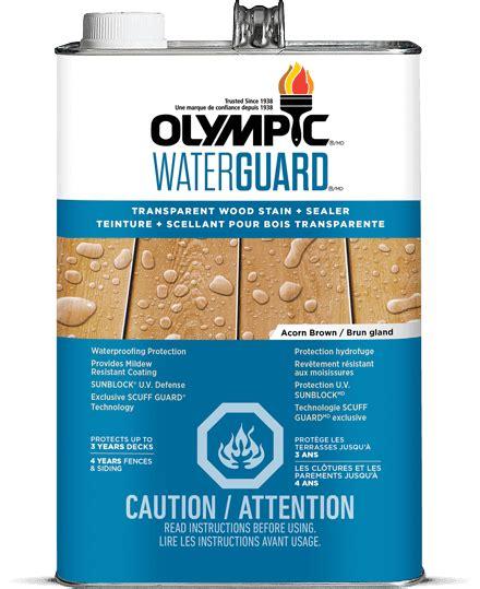 tinted waterproofing sealant  wood toner olympic