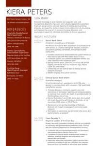 Trainee Social Worker Sle Resume by Stagiaire En Travail Social Exemple De Cv Base De Donn 233 Es Des Cv De Visualcv