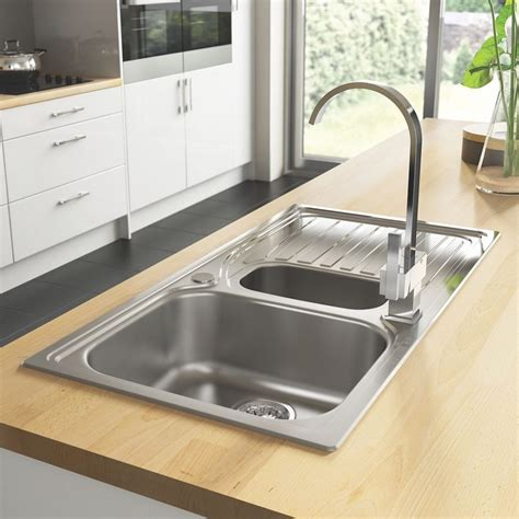 kitchen sink fixings kitchen sinks our pick of the best ideal home