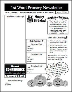 primary school newsletter templates template for primary newsletter primary