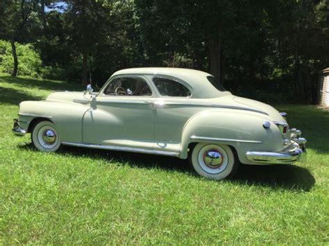 Chrysler Club by 1946 Chrysler Royal Club Coupe