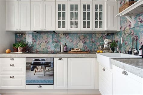 removable wallpaper backsplash rental rehab 13 removable kitchen backsplash ideas