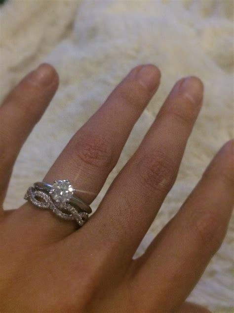 Wedding Rings Infinity Band by Infinity Wedding Band Help