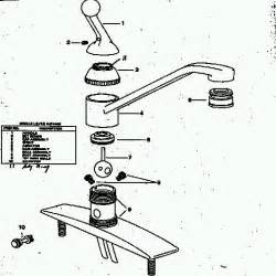 Delta Kitchen Sink Faucet Repair delta single handle kitchen faucet repair diagram delta