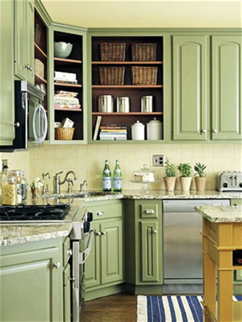 green kitchen cabinet ideas designed to the nines trend watch fresh colors for