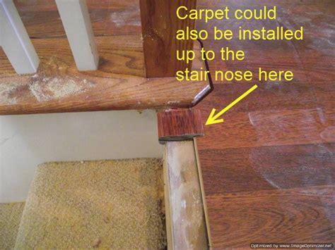Laminate Flooring Rising Up by Installing Laminate On Top Stair To Carpet