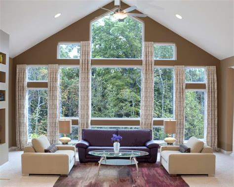 doors windows window treatment ideas for large windows