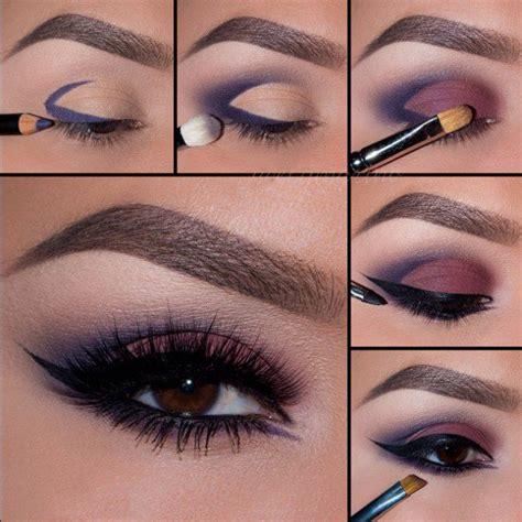 eyeliner tutorial on pinterest 20 tutoriales de maquillaje de noche que te encantar 225 n
