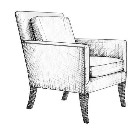 pencil sketches of chairs 94520d6a178fa1769a488ffba85f19af