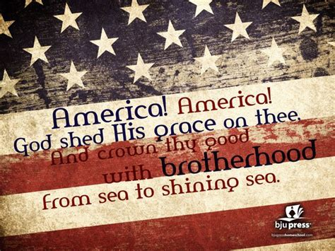 America America God Shed His by Pin By Soo Heath On God Bless America