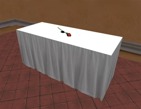Second Life Marketplace Mnm 1 One Prim Rectangular Buffet Table Cloths