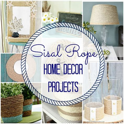 nautical craft projects nautical sisal rope coasters easy diy tutorial