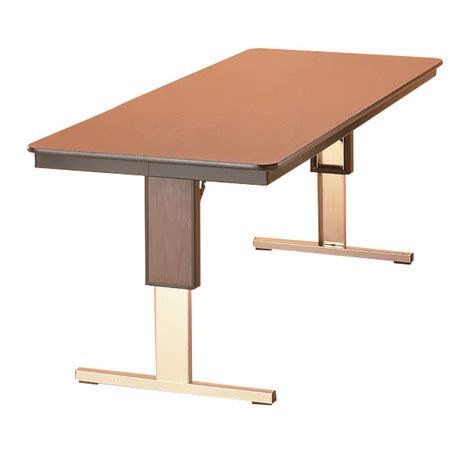 36 x 72 folding table midwest folding t leg adjustable height table 72 in l x 36
