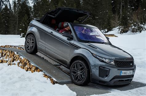 land rover convertible black 2017 land rover range rover evoque convertible first drive