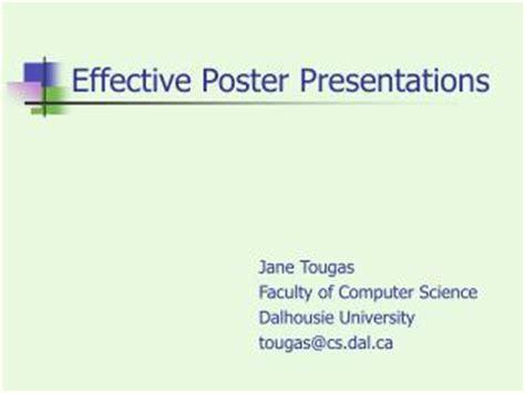 design effective powerpoint presentation 6 best images of effective poster presentations