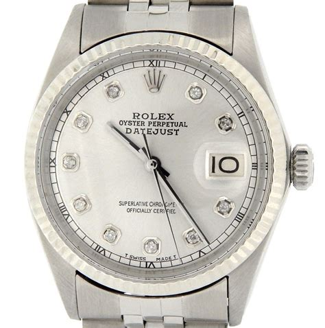 Sale Rolex 1014 rolex mens stainless steel datejust for sale sku 2570542mt