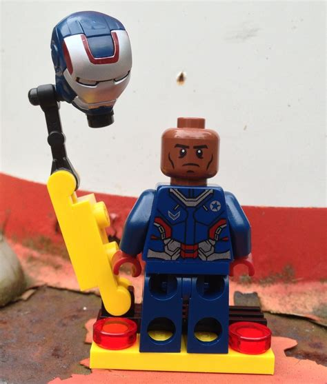 lego iron patriot minifigure review photos exclusive