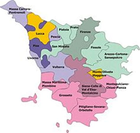 sede regione toscana diocesi italiane suddivise per province ecclesiastiche