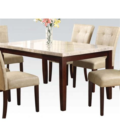 Cheap Marble Dining Table Sets 5 Pc Dining Table Marble Top Set By Collection Us Furniture Discount Inc