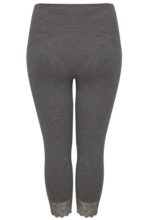 Small And Imperfectly Formed Trousers by Bump It Maternity Legging Gris Fonc 233 3 4 Avec Bordure