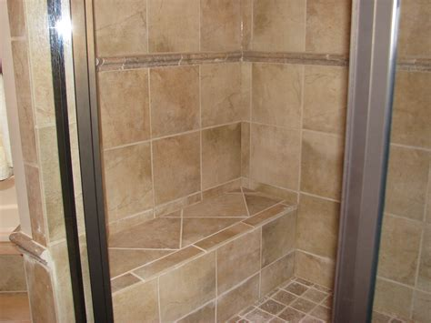 built in shower built in shower seat for the home pinterest