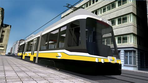 Light Rail Vehicle by Brookville Equipment To Deliver Two Wire Capable Light