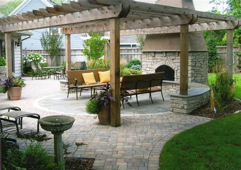 pergola with fireplace fireplace with pergola lori mccabe landscape designs