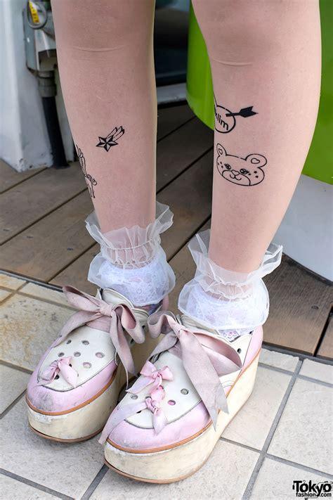 tattooed stripper ombre hair x snoopy milk milklim in