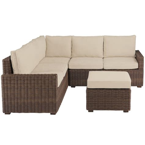 sectional clearance patio sectional modern outdoor wicker circular patio