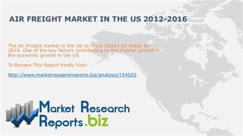 us air freight market size and 2012 2016 marketresearchreports
