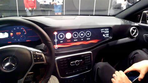 infotainment car qnx car infotainment system at ces 2014 throughglass