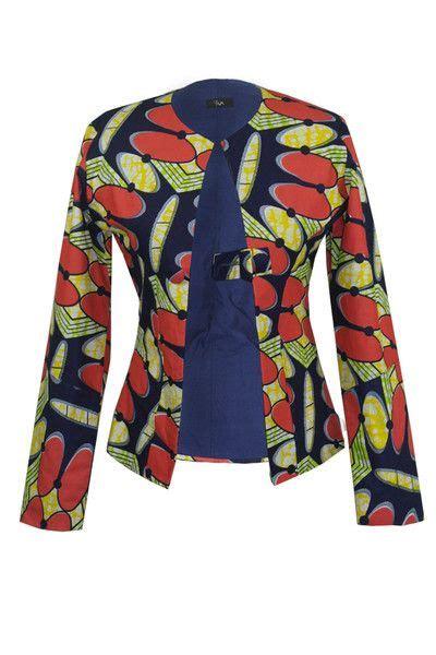 nigerian ankara jackets african print jacket african prints pinterest