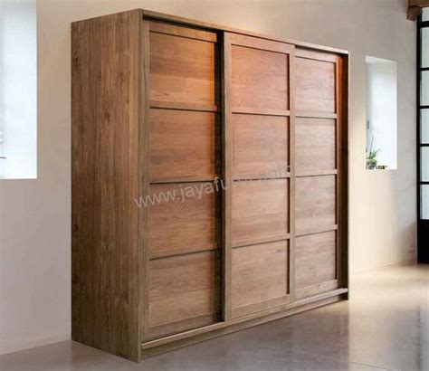 Lemari Pakaian Empat Pintu lemari pakaian sliding minimalis 3 pintu jayafurni mebel jepara jayafurni mebel jepara