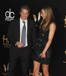 best hugh grant hugh grant at awards with