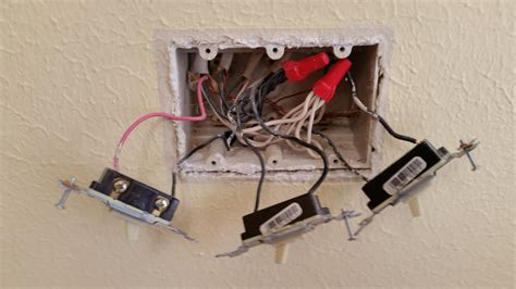 single pole light switch with 3 black wires wire diagram for outlet red whit black wire 43 wiring