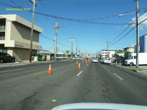 city and county of honolulu section 8 bike lanes for waialae avenue