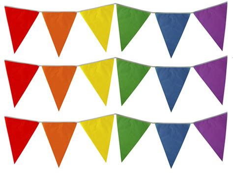 flag colours 10m 20 flags colour bunting flags pennants