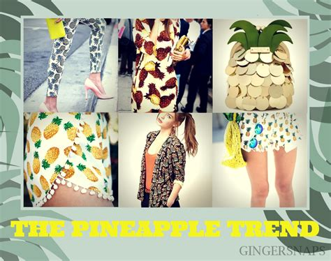 pineapple trend fashion therapy the pineapple trend gingersnaps