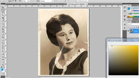 restaurar imagenes jpg dañadas tutorial de como restaurar imagenes en photoshop parte 2