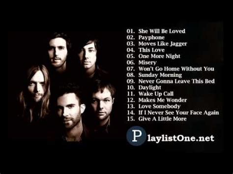 maroon 5 greatest hits cover best songs of maroon 5 best songs of maroon 5 youtube