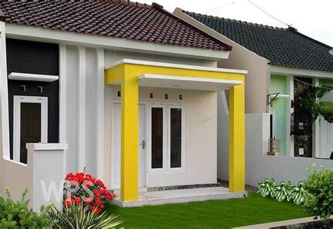 Lu Taman Dan Tiang desain teras rumah mewah minimalis contoh desain gambar