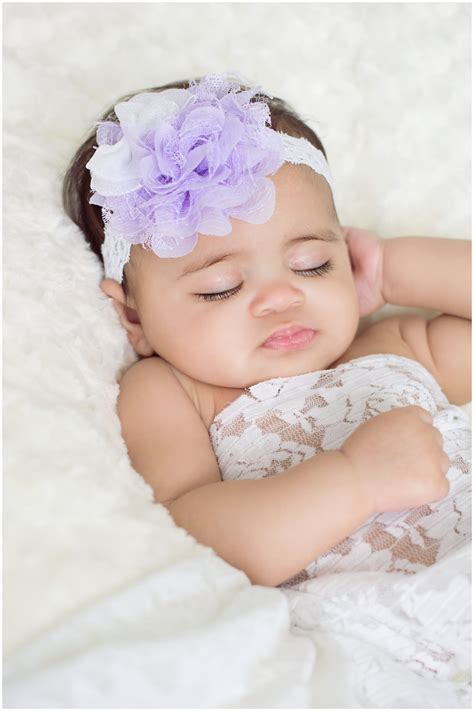 newborn baby headband bows lace flower children lavender flower headband lavender baby headband white