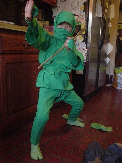 pattern for a ninja costume the green ninja sewing projects burdastyle com