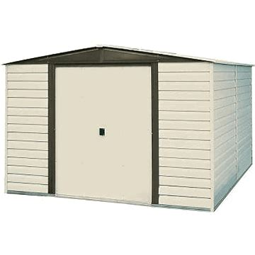 Vinyl Shed 10 X 12 by Arrow Dallas 10 X 12 Vinyl Coated Storage Shed