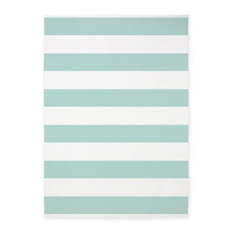 Light Teal Rug by Light Teal Bold Stripes 5 X7 Area Rug By Hhtrendyhome