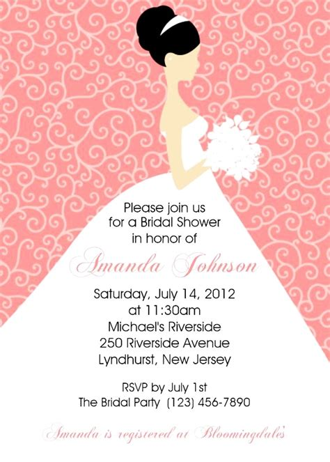 The Wedding Date Shower by Photo Invitation Templates Invitation Templates