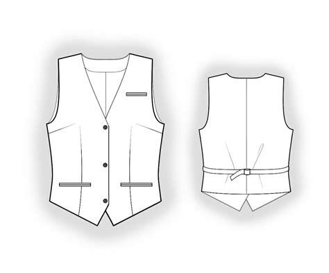 sewing pattern waistcoat waistcoat sewing pattern 5954 made to measure sewing