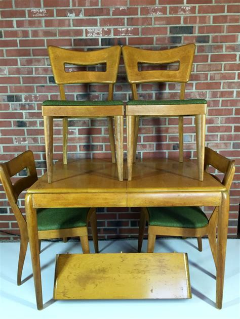 heywood wakefield dining room set heywood wakefield dining room set m 154 a chairs chairs